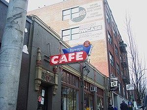 English: Byways Cafe (Portland, Oregon)