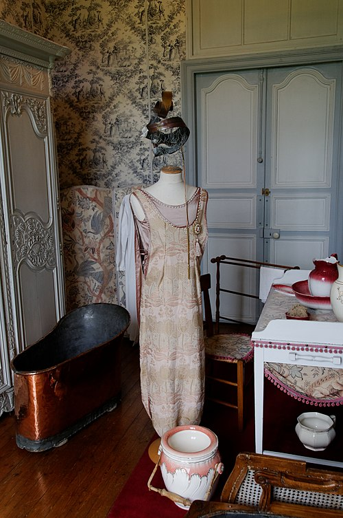 Château de Valençay Cabinet de toilette