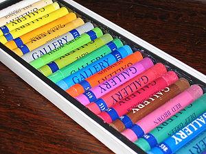 Commercial pastels