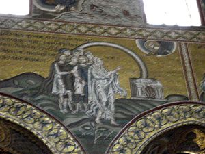 English: God's testament with Noah