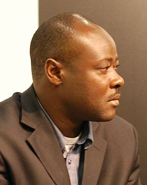 Nigerian writer Helon Habila at the Göteborg B...