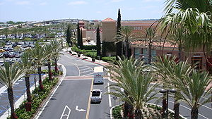 View of Irvine Spectrum and Interstate 5 from ...
