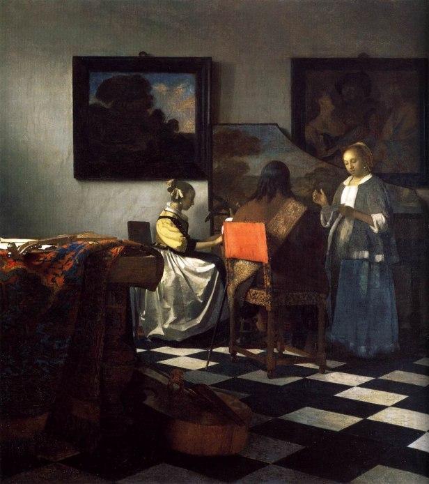 Johannes Vermeer - The Concert - WGA24669