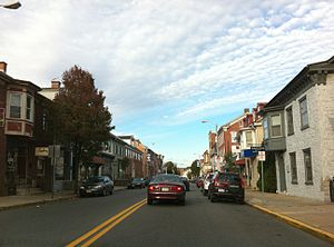 View of Kutztown heading East (towards Allento...