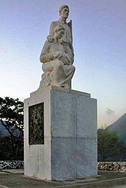 El J�baro, monumento al campestre en Cayey.