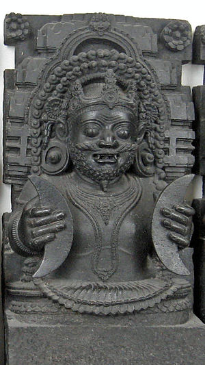 Photo of Rahu taken at the British Museum