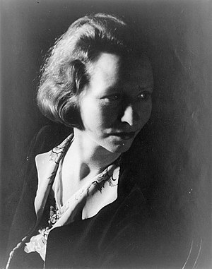 Portrait of Edna St. Vincent Millay (1933-01-14)