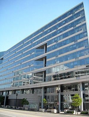 International Monetary Fund building on Pennsy...