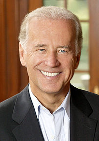 Joe Biden, United States Senator.