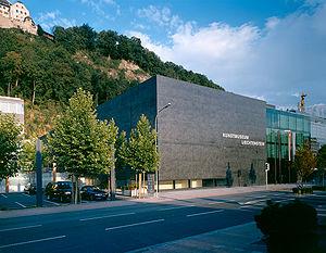 Deutsch: Kunstmuseum Liechtenstein, Vaduz