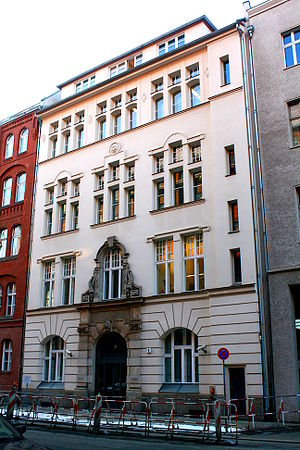 English: Leo-Baeck_Haus, Berlin. Headquarters ...
