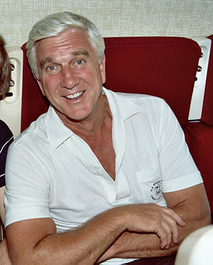 English: Actor Leslie Nielsen 1982 in a first ...