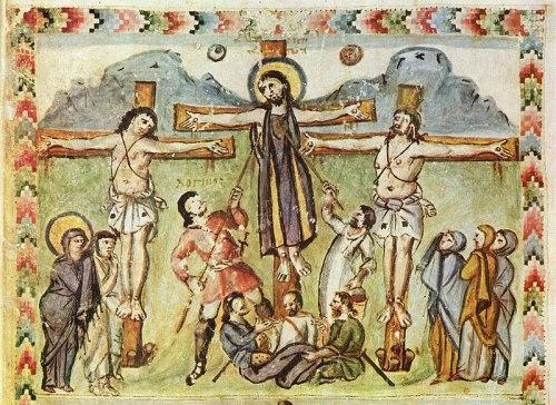 Imagen del Evangelio de Rábula - 586 d.C.
