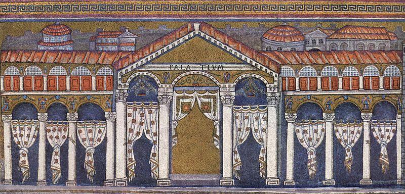 pałac Teodoryka, San Apollinare Nuovo