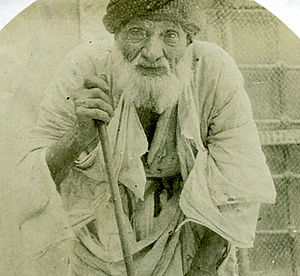 107 year old Chaldean man from Mosul, Iraq.