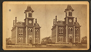 Shawnee County Courthouse, by Leonard & Martin