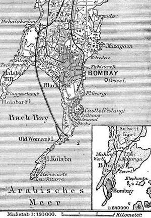 Bombay in 1888
