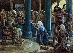 English: The Wisdom of Solomon, by James Jacqu...