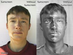 Sunscreen UVA UVB broad spectrum