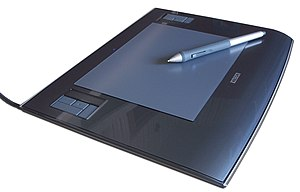 Wacom Pen Tablet with Pen, Intuos 3 A5
