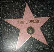 I Simpson sulla Hollywood Walk of Fame