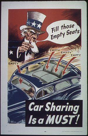 """Fill Those Empty Seats."" Car Sharin..."
