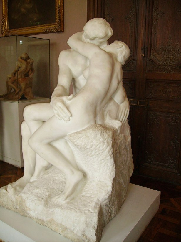 Auguste Rodin-The Kiss-Rodin Museum, Paris