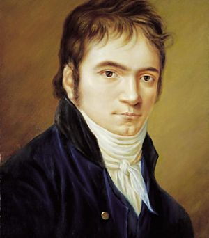 Ludwig van Beethoven in 1803