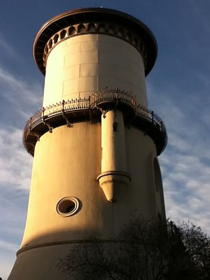 English: Fresno Water Tower