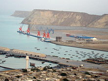 Original image from English wikipedia, uploaded by en:user: Gawadar port is a trademark of Chinese influence in Pakistan.