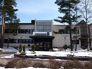 English: Finnair head office (Tietotie 11, Van...