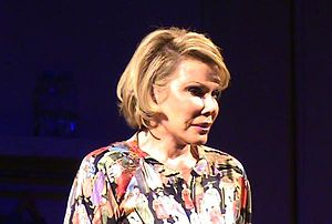 English: Picture of Joan Rivers in her show Li...