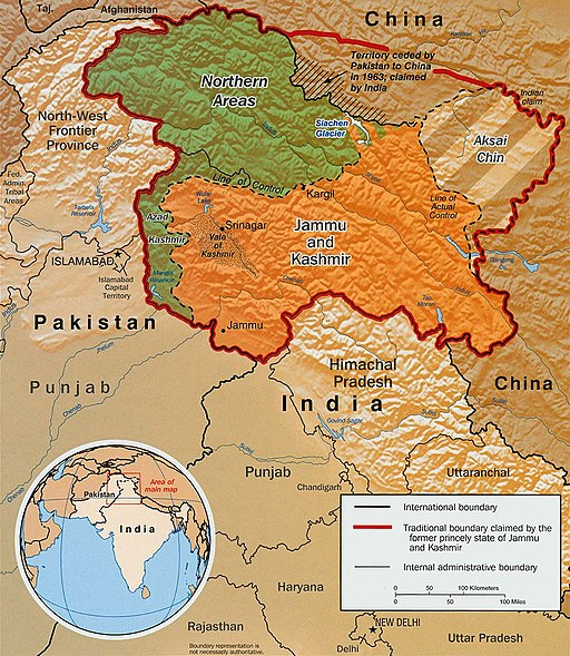 Kashmir map