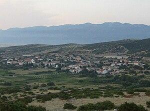English: City of Kolan on the island of Pag, C...