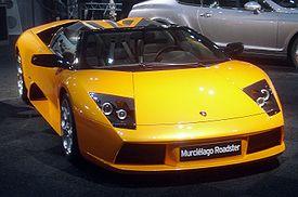 Lamborghini Murciélago Roadster 2005.