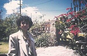 Argentine writer Luisa Valenzuela (born 1938),...