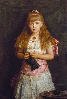 1882 portrait by John Everett Millais commissioned by Queen Victoria and exhibited at the Royal Academy.[9]