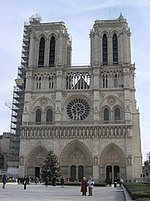 La Catedral Notre Dame de Par�s, una de las catedrales más famosas del mundo.