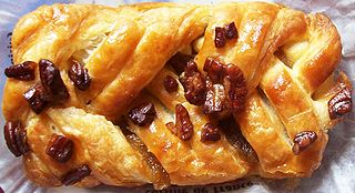 Pecan and Maple Danish