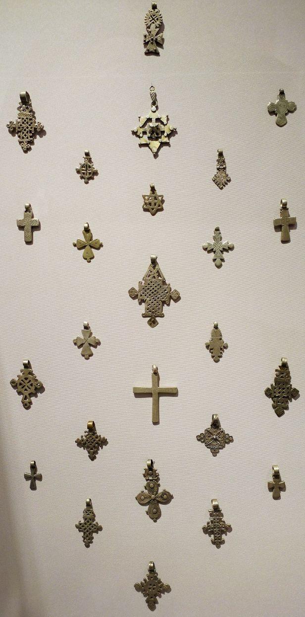 Penn Museum - Coptic Pendant Crosses