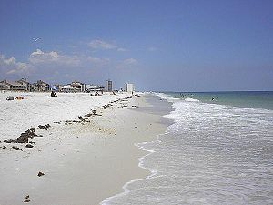 "Pensacola Beach, part of the ""Emerald Coa..."