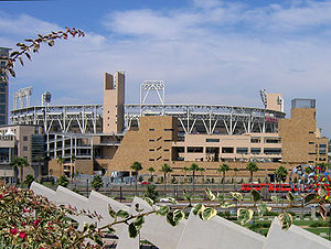 PETCO Park, home of the San Diego Padres (2004...