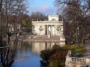 English: Łazienki Palace, Warsaw, Poland Polsk...