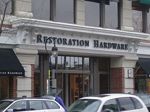 A Restoration Hardware store in Naperville, Il...