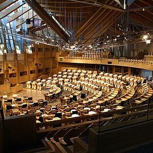 Scottish Parliament, Holyrood, Edinburg