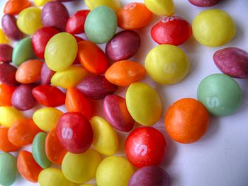 HDR image of Skittles.