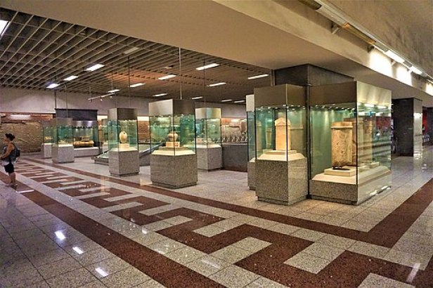 Syntagma Metro Station Archaeological Collection - Joy of Museum 2