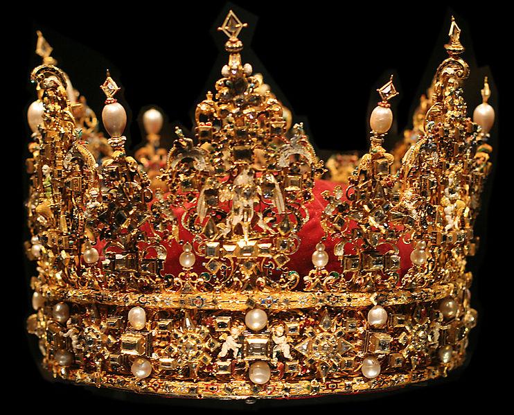 cc: wikipedia |כתרו של המלך כריסטיאן הרביעי מדנמרק