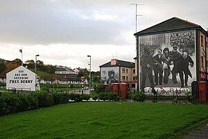 English: Free Derry Corner