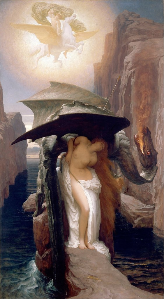 """Perseus and Andromeda"" by Frederic Leighton"